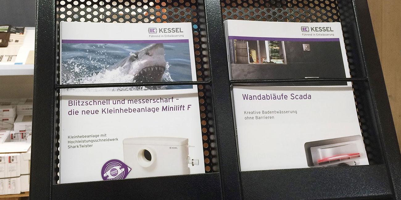 Agentur Mittel: Produkt-Prospekte für KESSEL